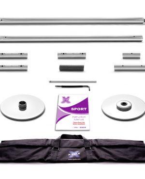 X-Pole Sport - 40mm, Chrome